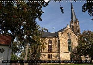 Kleine Perle - Bach-Stammort Wechmar (Wandkalender 2019 DIN A3 q