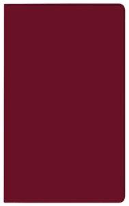 Taschenkalender Saturn Leporello PVC burgund 2018