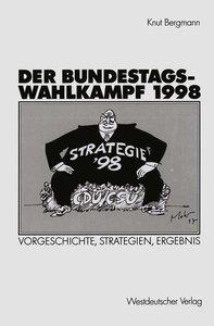 Der Bundestagswahlkampf 1998