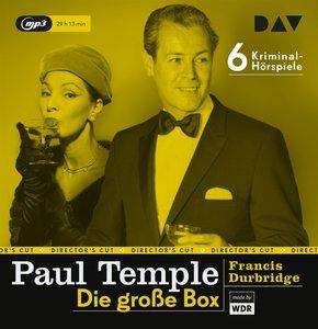 Paul Temple - Die große Box, 6 Audio-CDs, MP3 Format