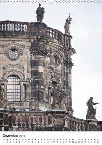 Dresden - Beeindruckende Architektur (Wandkalender 2019 DIN A3 h