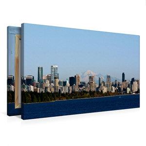 Premium Textil-Leinwand 75 cm x 50 cm quer Vancouver