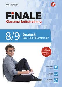 FiNALE Klassenarbeitstraining. Deutsch 8 / 9