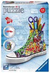 Ravensburger 125357 3D Puzzle Sneaker Graffiti Style