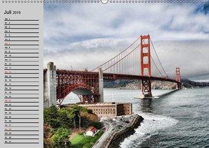 Kalifornien. Die goldene Westküste (Wandkalender 2019 DIN A2 que