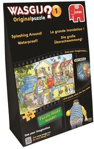 Wasgij - Die große Überschwemmung - 150 Teile in Geschenkverpack