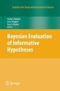 Bayesian Evaluation of Informative Hypotheses
