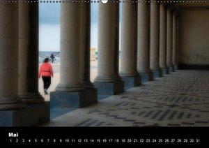Ostende, die Küsten (Wandkalender immerwährend DIN A2 quer)