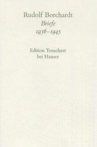 Briefe 1936 - 1945. Textband