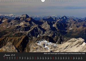 Allgäuer Bergblicke (Wandkalender 2019 DIN A3 quer)