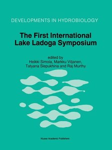 The First International Lake Ladoga Symposium