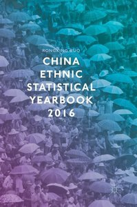 China Ethnic Statistical Yearbook 2016