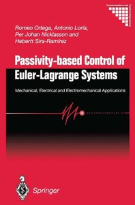 Passivity-based Control of Euler-Lagrange Systems