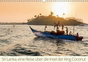 Sri Lanka, eine Reise über die Insel der King Coconut (Wandkalen