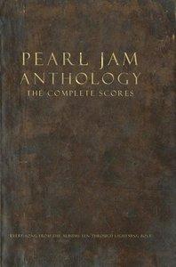 Pearl Jam Anthology - The Complete Scores, Gitarre