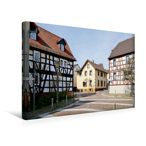 Premium Textil-Leinwand 45 cm x 30 cm quer Hauptstraße