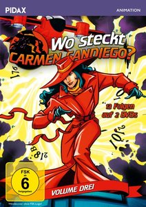 Wo steckt Carmen Sandiego?. Vol.3, 2 DVD
