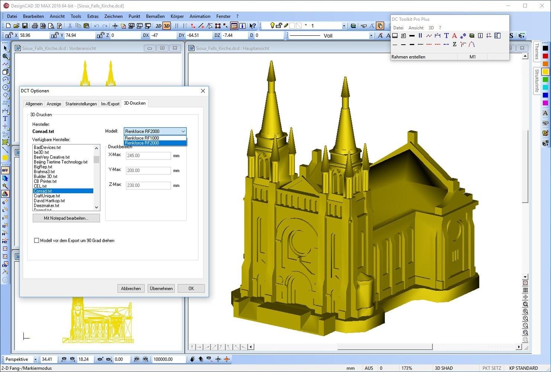 DesignCAD 3D-Print V26 [154763634] - 78,95 € - www.MOLUNA.de ...