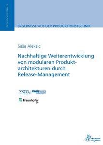 Nachhaltige Weiterentwicklung von modularen Produktarchitekturen