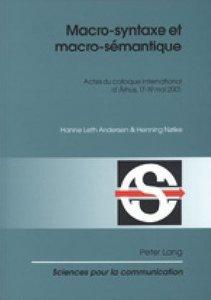 Macro-syntaxe et macro-sémantique