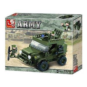 Sluban ARMY M38-B0299 - Gepanzertes Fahrzeug II, 221 Teile