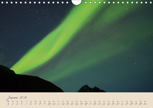 Zauber des Nordlichts - Aurora borealis (Wandkalender 2019 DIN A