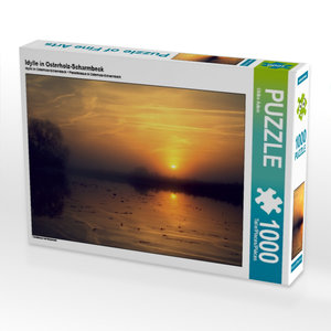 Idylle in Osterholz-Scharmbeck 1000 Teile Puzzle quer