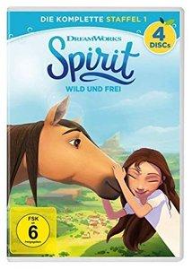 Spirit: Wild und frei Staffel 1, 4 DVD