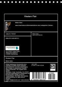 Western Flair (Tischkalender 2019 DIN A5 hoch)