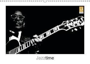 Jazztime (Wandkalender 2019 DIN A3 quer)