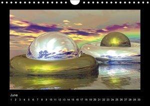 The third dimension (Wall Calendar perpetual DIN A4 Landscape)