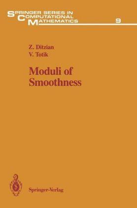 Moduli of Smoothness - zum Schließen ins Bild klicken