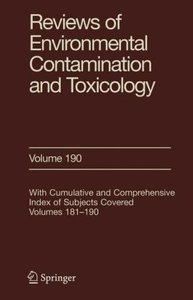Reviews of Environmental Contamination and Toxicology 190