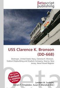 USS Clarence K. Bronson (DD-668)