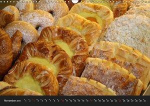 Süßes Gebäck (Wandkalender 2019 DIN A3 quer)