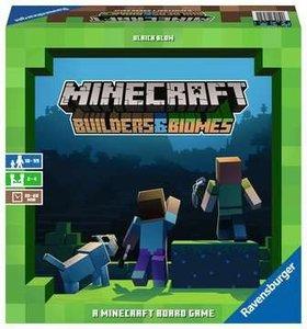 Ravensburger 26132 - Minecraft Builders & Biomes, Familienspiel