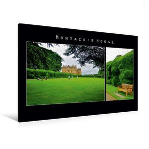 Premium Textil-Leinwand 120 cm x 80 cm quer Montacute House, Eng
