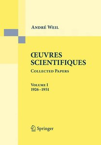 Oeuvres Scientifiques / Collected Papers 1