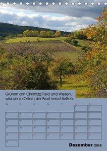 Wetter-Regeln der Bauern (Tischkalender 2018 DIN A5 hoch)