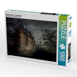 Chateau des F., Frankreich 1000 Teile Puzzle quer