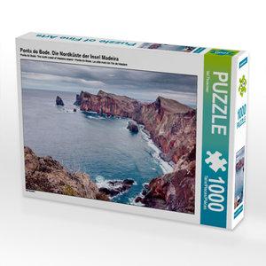 Ponta do Bode. Die Nordküste der Insel Madeira 1000 Teile Puzzle