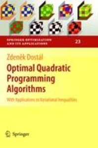 Optimal Quadratic Programming Algorithms