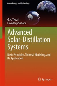 Advanced Solar Distillation Systems