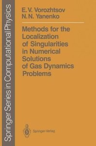 Methods for the Localization of Singularities in Numerical Solut