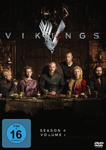 Vikings - Season 4 - Part 1, DVD