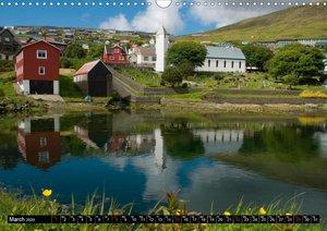 Faroe Islands / UK-Version (Wall Calendar 2020 DIN A3 Landscape)