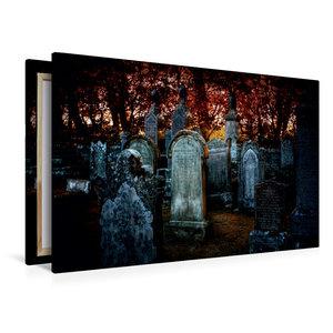 Premium Textil-Leinwand 120 cm x 80 cm quer Gothic Fantasy - War