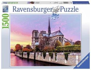 Ravensburger 163458 - Malerisches Notre Dame - Puzzle, 1500 Teil