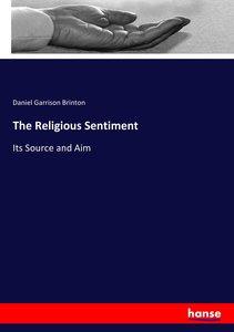 The Religious Sentiment