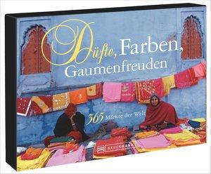 Tischaufsteller - Düfte, Farben, Gaumenfreuden